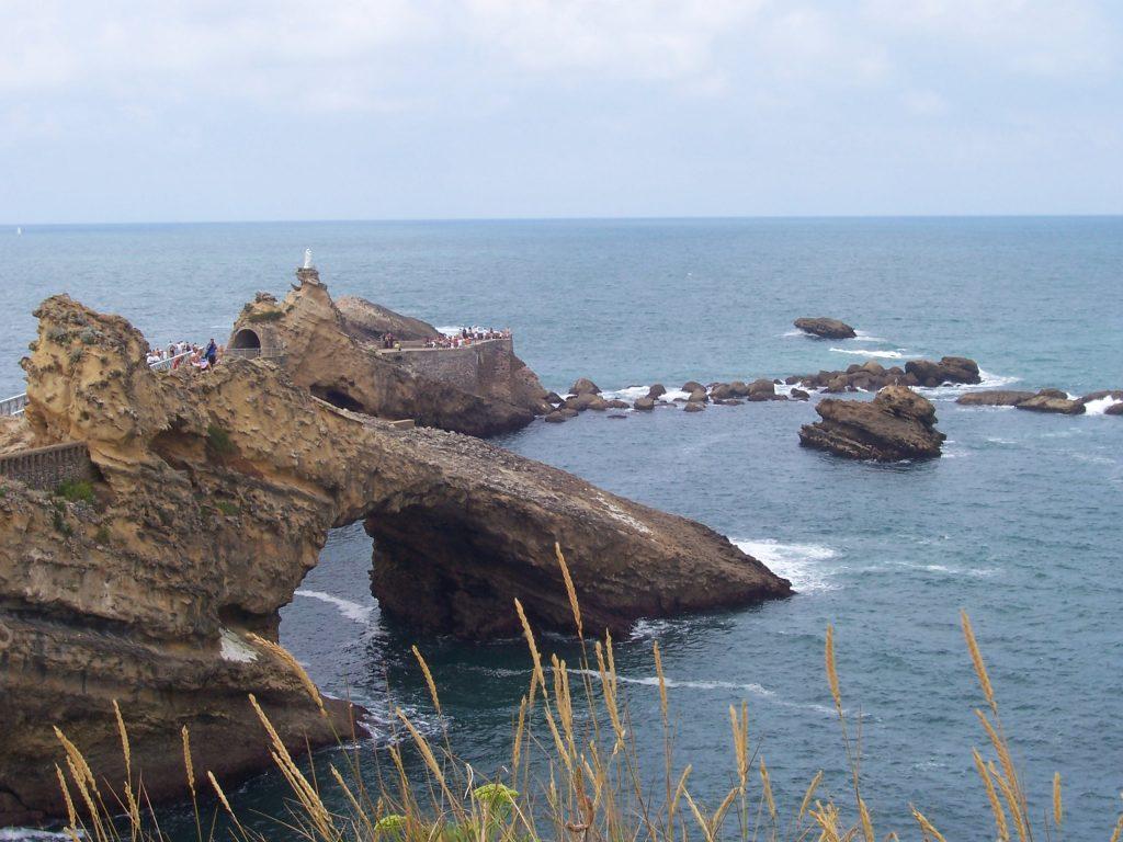 Rocher la vierge Biarritz